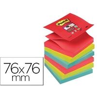 SUPER Z-NOTES JEWEL POP 76X76MM