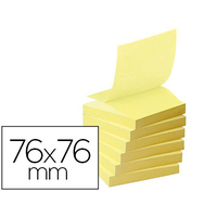 Z-NOTES JAUNE 76X76MM