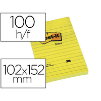 BLOC NOTE GRAND FORMAT 102x152mm