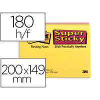SUPER STICKY GRAND FORMAT 203x152mm