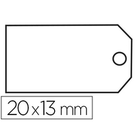 ÉTIQUETTES FIL COTON 13x20mm