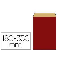 POCHETTE KRAFT ROUGE 18X6X35CM