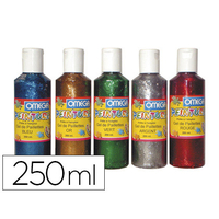 GEL PAILLETÉ 250ml 5 COLORIS ASSORTIS