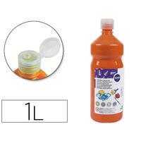 GOUACHE SCOLAIRE ORANGE 1L