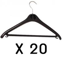 UNILUX 20 CINTRES PLASTIQUE