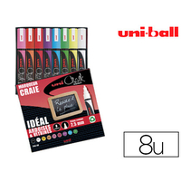 CHALK MARKER POINTE FINE PACK DE 8