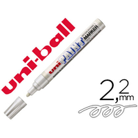 PAINT MARKER POINTE CONIQUE LARGE BLANC