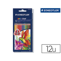CRAYONS NORIS CLUB TRIANGULAIRE PACK DE 12