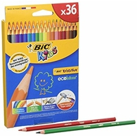 CRAYONS BIC KIDS EVOLUTION ECOLUTION PACK DE 36