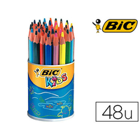 CRAYONS BIC KIDS EVOLUTION TRIANGLE POT DE 48