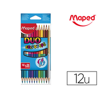CRAYONS COLOR'PEPS DUO PACK DE 12