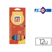 CRAYONS SCHOOL DAY PACK DE 12
