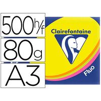 CLAIREFONTAINE TROPHÉE PANACHÉES FLUORESCENTE A3