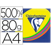 CLAIREFONTAINE TROPHÉE ASSORTIS FLUORESCENT A4 80G
