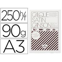 CANSON CALQUE SATIN 250 FEUILLES A3