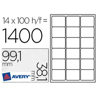 AVERY ÉTIQUETTES 99.1X38.1MM