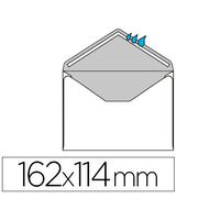 ENVELOPPES DE VISITE GOMMÉES 114X162MM