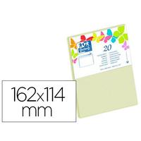 ENVELOPPES 114X162MM VANILLE