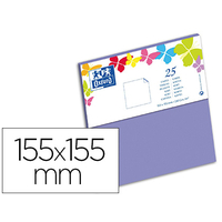 CARTES 155X155MM VIOLET
