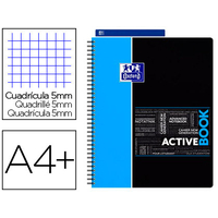 ACTIVEBOOK 24X32CM 160 PAGES PETITS CARREAUX
