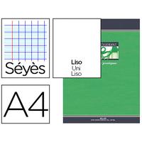 PIQUÉ 21X29.7CM 32 PAGES SÉYÈS + 32 UNIES