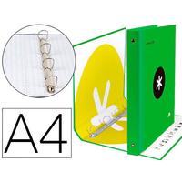 ANTARTIK A4 4 ANNEAUX 40MM VERT FLUO