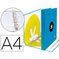 ANTARTIK A4 4 ANNEAUX 40MM BLEU