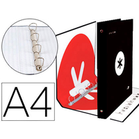ANTARTIK A4 4 ANNEAUX 40MM NOIR