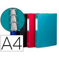 MEMPHIS A4 4 ANNEAUX 15MM ASSORTIS STANDARD