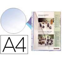 POCHETTES A4 180 MICRONS FARD CLIREL PACK DE 10
