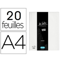 LUTIN CLASSIQUE A4 40 VUES BLANC