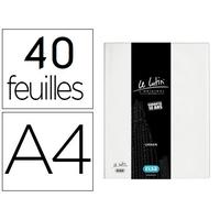 LUTIN CLASSIQUE A4 80 VUES BLANC