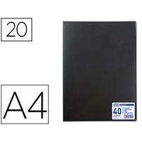 MEMPHIS A4 40 VUES NOIR