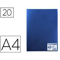 MEMPHIS A4 40 VUES BLEU