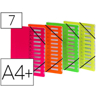 FLUO 7 COMPARTIMENTS ASSORTIS