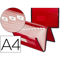 POLYPRO 13 COMPARTIMENTS ROUGE