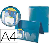 AVEC 2 POCHES CD DOS RIGIDE 2.5CM VERT