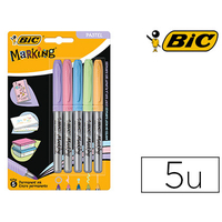 MARKING COLOR BLISTER DE 5 PASTELS