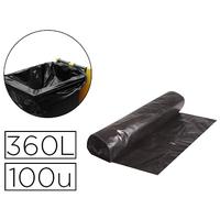 SACS CONTAINER NOIR 360L PACK DE 10