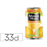 MINUTE MAID ORANGE BOITE 33CL