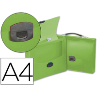 PORTE-DOCUMENTS A4 TRANSLUCIDES VERT