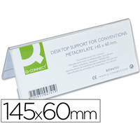 CHEVALET PORTE-NOM 145X60MM