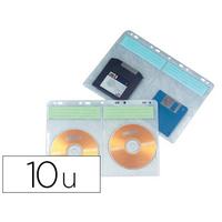 POCHETTE CLASSEUR POUR CD/DVD PACK DE 10