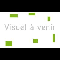 XERUS BENCH CHÊNE NATUREL PIEDS BLANCS ÉLÉMENT DE DÉPART 120CM