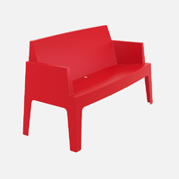 BOXI SOFA ROUGE