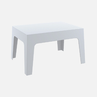 BOXI TABLE BASSE BLANC