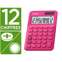 CASIO MS-20UC-RD 12 CHIFFRES