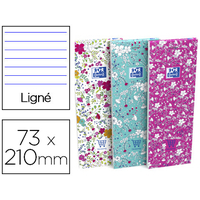 BLOC SHOPPING FLORAL 74X210MM