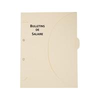 CHEMISE DOSSIER BULLETINS DE SALAIRE