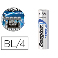 PILES ULTIMATE LITHIUM AA/LR06 PACK DE 4
